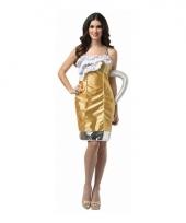 Feest bierglas verkleedoutfit voor dames trend