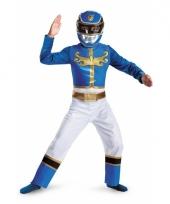 Feest blue ranger kostuum trend