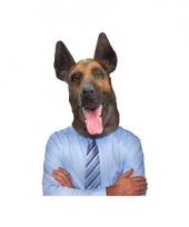 Feest dierenmasker herdershond trend