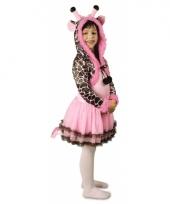 Feest giraffe verkleedoutfit voor meisjes trend
