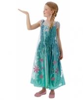 Feest kostuum elsa frozen voor meisjes trend