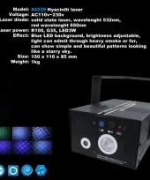 Feest laser met blauwe effecten trend