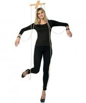Feest marionette verkleedoutfit kruis trend
