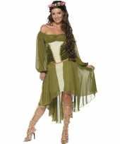 Feest middeleeuwse verkleedoutfit voor dames trend