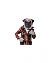 Feest mopshond verkleedset voor volwassenen trend