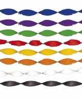 Feest slingers crepe papier 5m trend