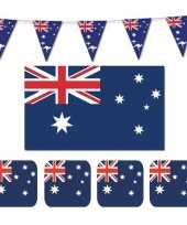 Feestartikelen australie versiering pakket trend 10114087
