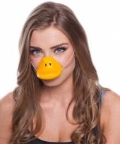 Feestartikelen eenden neus masker trend