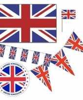 Feestartikelen groot brittannie versiering pakket trend