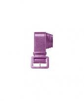 Feestartikelen paarse glitter riem trend