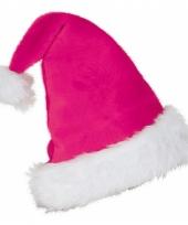 Feestartikelen roze kerstmuts trend