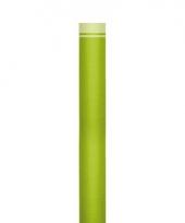 Feestartikelen tafelloper groen trend