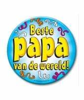 Feestartikelen xxl button beste papa trend
