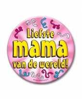 Feestartikelen xxl button liefste mama trend