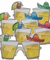 Feestbril mexicaanse tequila trend