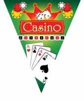 Feestdecoratie vlaggenlijn casino trend
