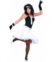 Feestelijke witte petticoat trend