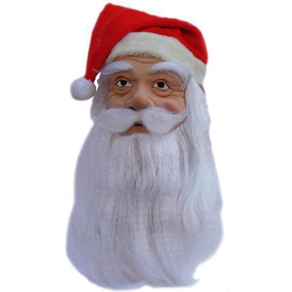 Feestmasker kerstman trend