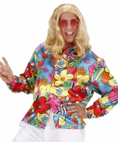 Fel gekleurd hippie shirt trend