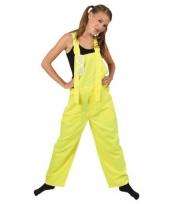 Fel gele tuinbroeken voor kids trend