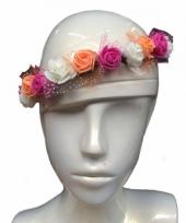 Festival hoofdband met bloemen trend