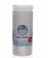Fijne kunstsneeuw nepsneeuw 150 gram trend
