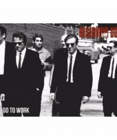 Filmposter reservoir dogs lets go to work 91 x 61 cm trend