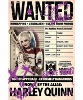 Filmposter suicide squad harley quinn wanted 61 x 91 cm trend