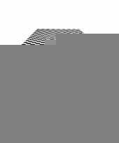 Finish tafelkleed zwart wit geblokt 130 x 180 cm trend