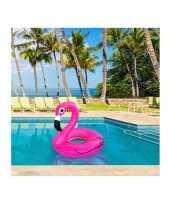Flamingo zwemring trend