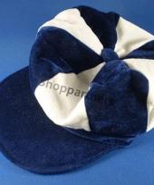 Flat cap met de kleuren van schotland trend
