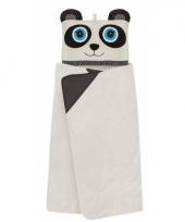 Fleece deken panda met capuchon trend