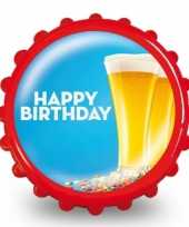 Fles opener happy birthday trend 10079954
