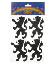 Foam stickers leeuw trend