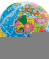 Foam wereldbol 6 cm trend