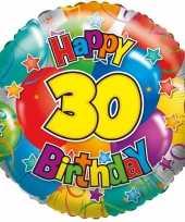 Folie ballon 30 jaar 45 cm trend