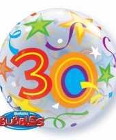 Folie ballon 30 jaar 56 cm trend