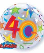 Folie ballon 40 jaar 56 cm trend