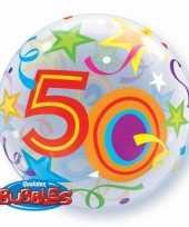 Folie ballon 50 jaar 56 cm trend