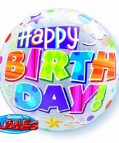 Folie ballon happy birthday 56 cm trend