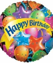 Folie ballon happy birthday trend