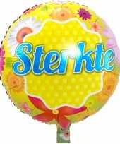 Folie ballon sterkte 46 cm met helium gevuld trend