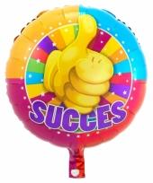 Folie ballon succes 45 cm trend