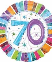 Folie ballonnen 70 jaar trend