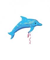 Folie ballonnen van een dolfijn trend