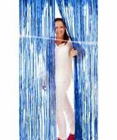 Folie deurgordijn blauw trend