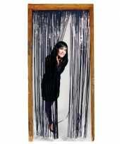 Folie deurgordijn zwart trend