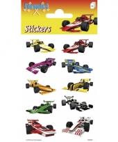 Formule 1 stickers 3 vellen trend