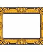 Foto prop opblaasbare fotolijst 60 x 80 cm trend