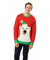 Foute ijsbeer print truien trend